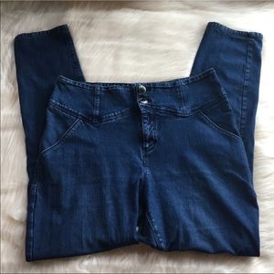 Urban Outfitters Ultra High-Rise Corset Jeans